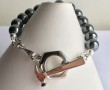 The gemstone, Hematite is thought to  calm you in stressful times. Hematite is also a very protective stone and wearing it, can help you stay grounded in many situations.