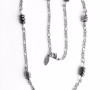 Nuts-Hematite Station Necklace 1